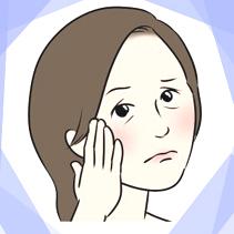顔のたるみへの影響